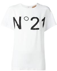 No21 logo print t shirt medium 3649811
