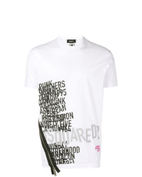 DSQUARED2 Printed T Shirt With