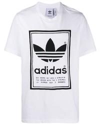 adidas Printed Trefoil Logo T Shirt