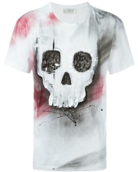 Faith Connexion Skull Print T Shirt
