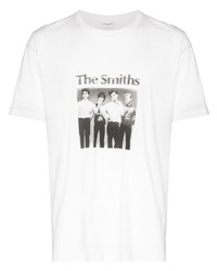 Saint Laurent The Smiths Graphic Print T Shirt