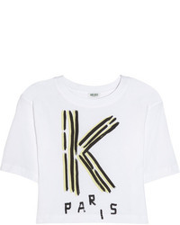 Kenzo Cropped Cotton T Shirt