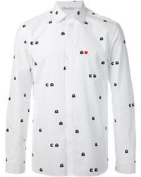 Pacman print shirt medium 106564