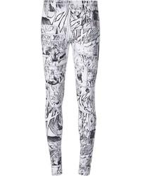Manga print leggings medium 118202