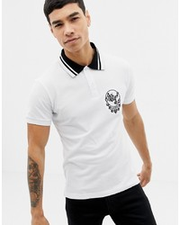 Versace Jeans Polo Shirt With Chest Logo