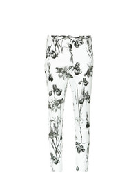 Andrea Marques Printed Skinny Trousers Unavailable
