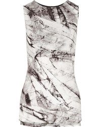 Helmut Lang Terrene Printed Stretch Jersey Top