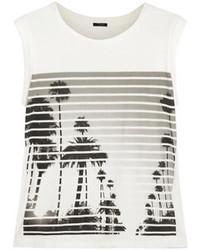 J.Crew Printed Cotton Top