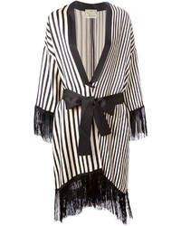 Fringed striped kimono medium 291613