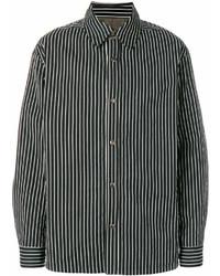 Casual striped shirt medium 7009646