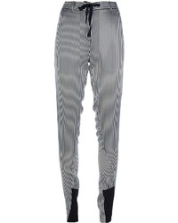 Ann Demeulemeester Striped Drawstring Trouser