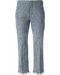 Gingham check trousers medium 215440