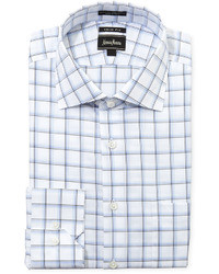 White and Blue Dress Shirt