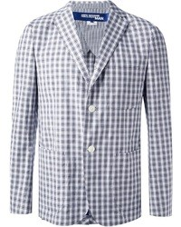 Junya watanabe comme des garons checked two button blazer medium 21367
