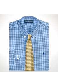 Polo Ralph Lauren Custom Fit Gingham Dress Shirt