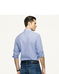 Ralph Lauren Black Label Denim Gingham Sloan Sport Shirt