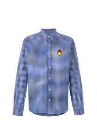 AMI Alexandre Mattiussi Shirt Smiley Chest Patch