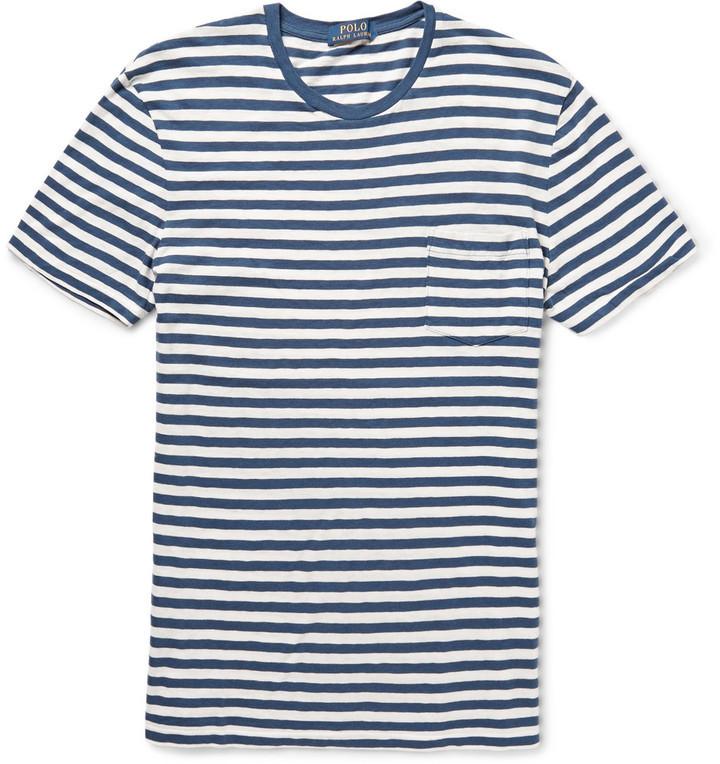 hot sale online 2df34 85158 amazon blau weiß striped polo shirt 4d687 8a4f3