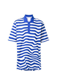 Napa By Martine Rose Striped Polo Shirt