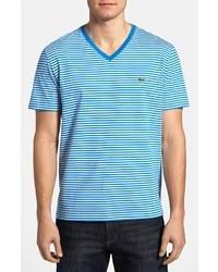 Heritage fit stripe jersey v neck t shirt medium 18130