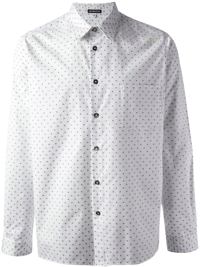 Ann Demeulemeester Polka Dot Shirt | Where to buy & how to wear