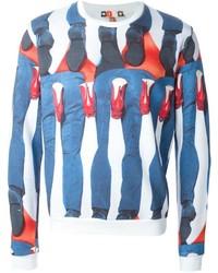 X toilet paper magazine printed legs sweatshirt medium 321720