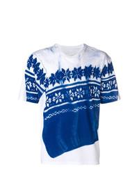 Maison Margiela Snowflake Sweater Print T Shirt