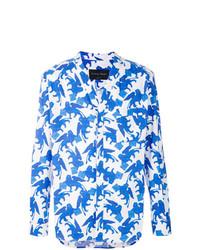 Christian Pellizzari V Neck Printed Shirt
