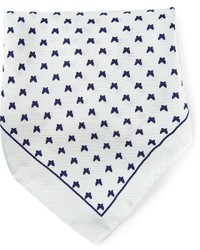 fe-fe Fef Butterfly Print Pocket Square