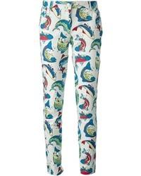 Kenzo Fish Jeans