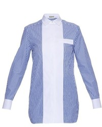 Banker striped poplin shirt medium 840189