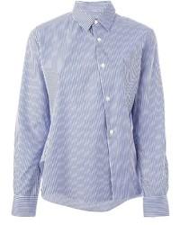 Comme des garons comme des garons striped shirt medium 189223
