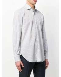Barba Long Sleeved Stripe Shirt