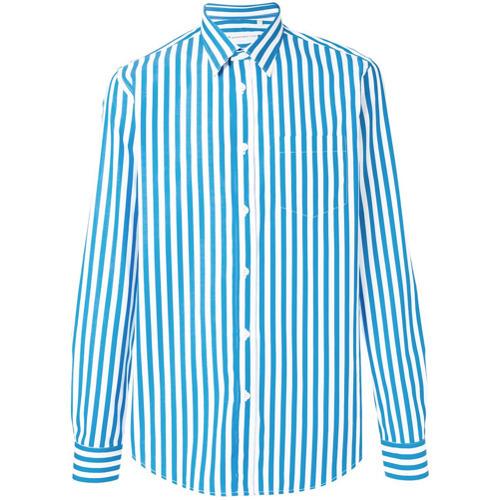 Department 5 Striped Button Down Shirt