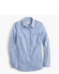 Thomas mason for stretch shirt in stripe medium 656381