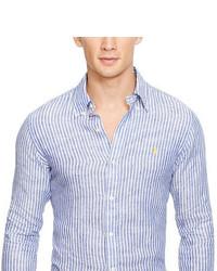 abc98accfd ... usa polo ralph lauren striped linen shirt 03585 e8110