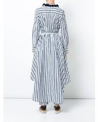 Figue Pompom Embellished Striped Shirt