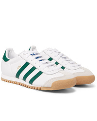 adidas Originals Rom Suede Trimmed Leather Sneakers
