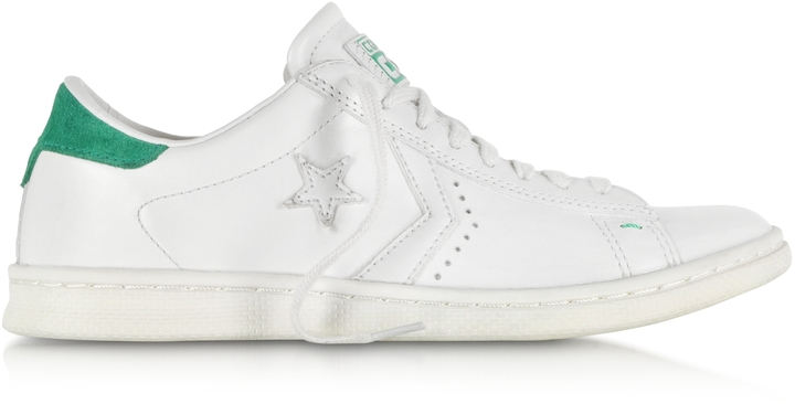 converse ox bianche