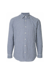 Gieves & Hawkes Check Fitted Shirt
