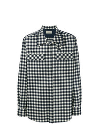 Holland & Holland Double Pocket Gingham Shirt