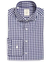 Strong Suit Elan Trim Fit Check Dress Shirt