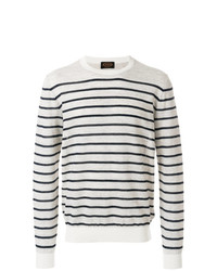 Crew neck striped jumper medium 8238130