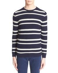 Egyptian cotton stripe pullover medium 683414