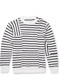 Striped cotton sweater medium 430603