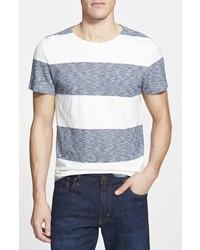 Faherty Cj Trim Fit Stripe Pocket T Shirt