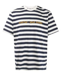 Sunnei Horizontal Stripe T Shirt