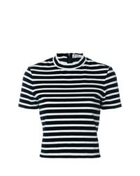T by Alexander Wang Horizontal Stripe T Shirt