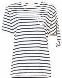 J.W.Anderson Jw Anderson Oversized Stripe T Shirt