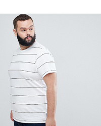 French Connection Plus Thin Stripe T Shirt Marine